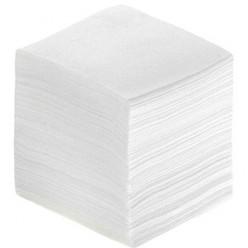 Туалетная бумага в листах, 2 слоя, белая ( с прошивкой)