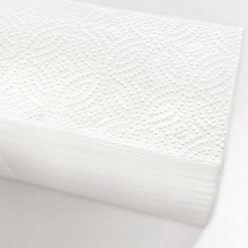 Листовые полотенца Z 2 слоя (белые), целлюлоза, 17 гр*2
