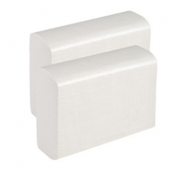 Листовые полотенца Z 1 сл (белые)  25 гр