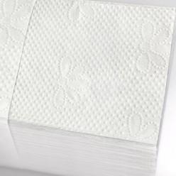 Диспенсерные салфетки, белые, 2-сл., 200 шт/пачка, 16 формат под Торк