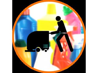 Поломоечные машины и моющие средства -  виды и особенности