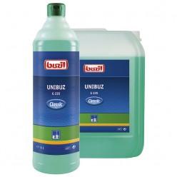 Профессиональное концентрированное моющее и ухаживающее средство на основе водорастворимых полимеров G 235 Unibuz