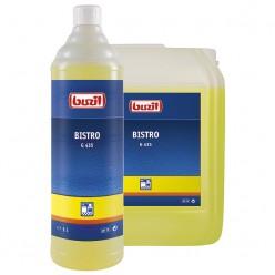 Профессиональное концентрированное сильнодействующее щелочное чистящее средство G 435 Bistro 1 литр
