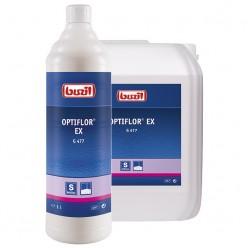 Профессиональное концентрированное чистящее средство для текстильных поверхностей G 477 Optiflor Ex 1 литр