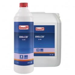 Профессиональное концентрированное чистящее средство для основательной чистки поверхностей на основе фосфорной кислоты G 491 Erol cid