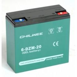 Аккумулятор Chilwee 6-DZM-20
