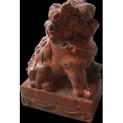 Лев азиатский малый, мрамор