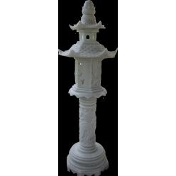 Домик-фонарь большой, мрамор