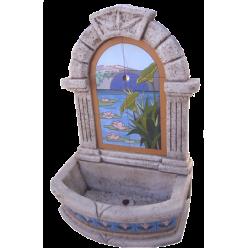 Пристенный фонтан