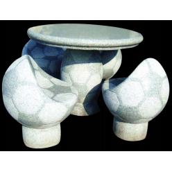 """Садовая мебель """"Футбол"""" стол и 4 кресла"""