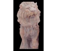 Лев сидящий с шаром
