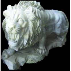 Лев идущий, Мрамор