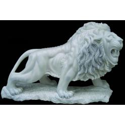 Лев большой, Мрамор