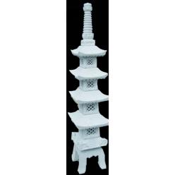 Пагода 4 уровня, Гранит