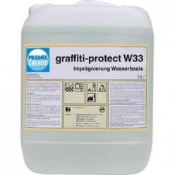 Pramol Chemie Graffiti-protect W 33 - пропитка для защиты от граффити на водной основе
