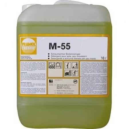 Pramol Chemie M-55 - средство для напольных покрытий и других водостойких поверхностей