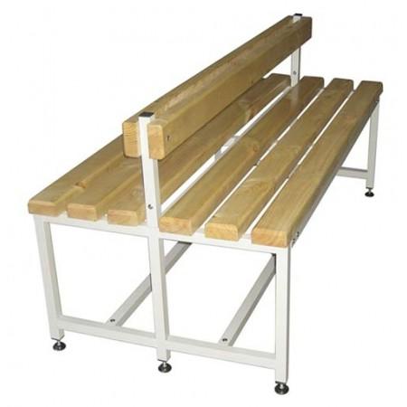 Скамья Для раздевалок с деревянным сидением ООО «КМК ЗАВОД» CК-2C-1000