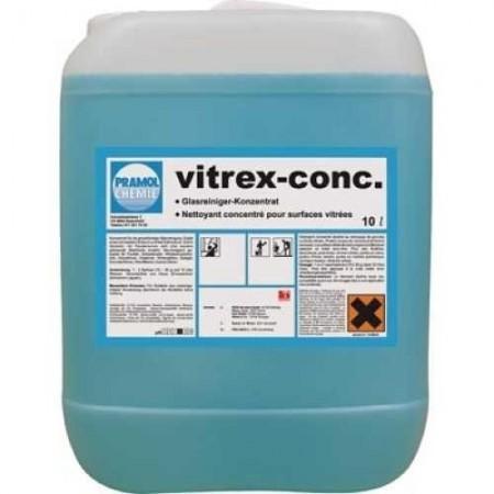 Pramol Chemie VITREX-CONC - концентрат для очистки больших стеклянных поверхностей