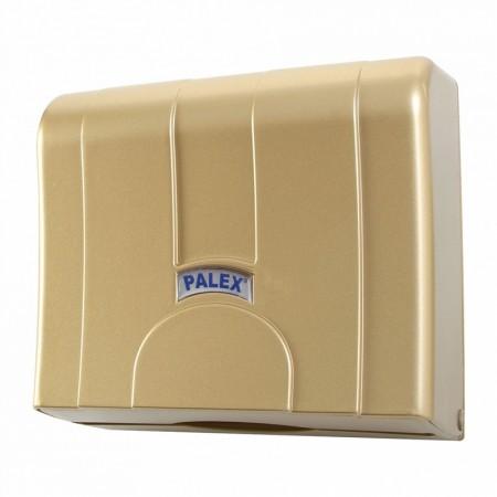 Palex Стандартный Z Диспенсер для полотенец с выдвижной бумагой Золотой