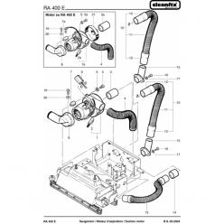 Вакуумный мотор для Cleanfix RA 410 E