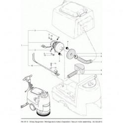 Вакуумный мотор для Cleanfix RA 430 E
