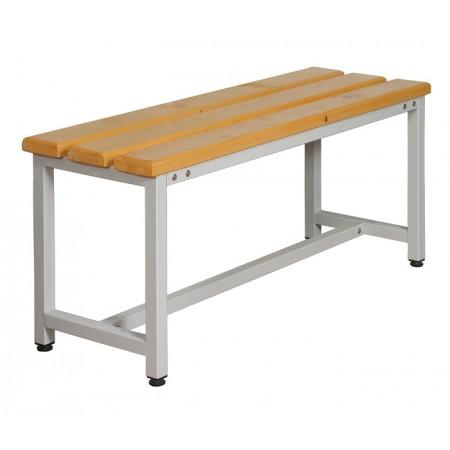 Скамья Для раздевалок с деревянным сидением ООО «КМК ЗАВОД» СК-1-1500