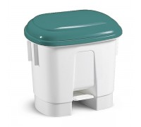 TTS Ведро мусорное Derby, с зеленой крышкой, 30 л.