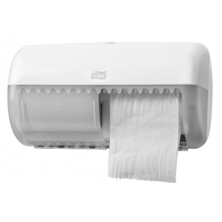Tork Диспенсер Tork для туалетной бумаги в стандартных рулонах белый 557000