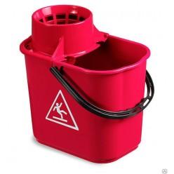 TTS Ведро Easy с отжимом 14 л красное
