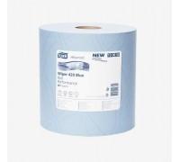 Tork Протирочная бумага в рулоне голубая (W1) 130050