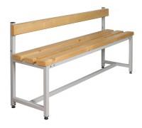 Скамья Для раздевалок с деревянным сидением ООО «КМК ЗАВОД» СК-1С-1500