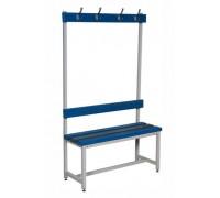Скамья Для раздевалок с сидением из пластиковых досок ООО «КМК ЗАВОД» СКН-1B-1500