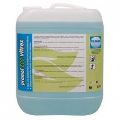 Pramol Chemie ECO-VITREX - для стёкол, зеркал, пластиковых поверхностей и пр