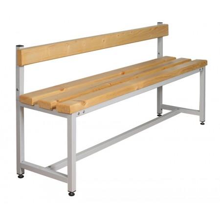 Скамья Для раздевалок с деревянным сидением ООО «КМК ЗАВОД» СК-1С-2000