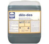 Pramol Chemie DEO-DES - концентрированное бактерицидное средство для чистки любых моющихся поверхностей