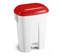 TTS Ведро мусорное Derby, с красной крышкой, 60 л.