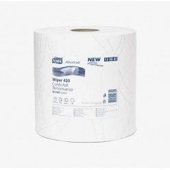 Tork Протирочная бумага в рулоне белая (W1/W2)