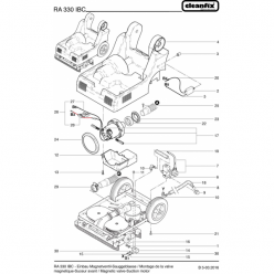 Вакуумный мотор для Cleanfix RA 320 IBC