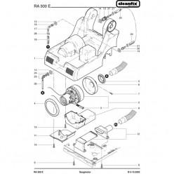 Вакуумный мотор для Cleanfix RA 300 E