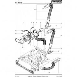 Вакуумный мотор для Cleanfix RA 410 B