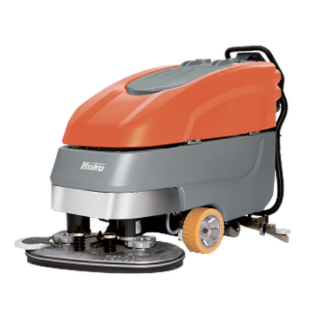 Поломоечная машина аккумуляторная Hako Scrubmaster B90