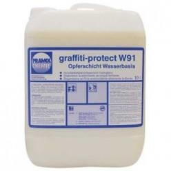 Pramol Chemie Graffiti-protect W 91 - состав для нанесения защитного слоя на основе воска для кирпича, камня, бетона, штукатурки