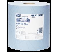 Tork Протирочная бумага повышенной прочности голубая (W1)