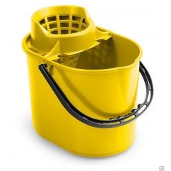 TTS Ведро Pit с отжимом 12 л желтое