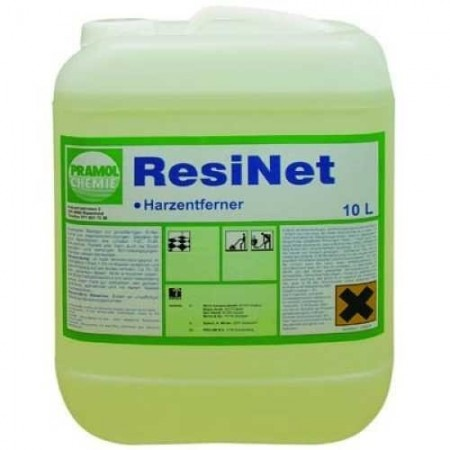 Pramol Chemie RESINET - очиститель для удаления клеевых и смолистых загрязнений