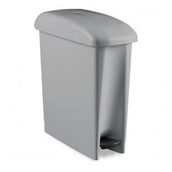 Пластиковый контейнер DERBY с педалью, 17 л, серый
