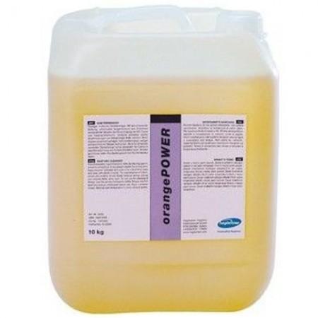 Hagleitner OrangePOWER - высококонцентрированное средство для уборки всех влагостойких поверхностей