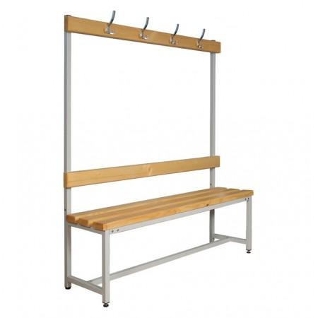 Скамья Для раздевалок с деревянным сидением ООО «КМК ЗАВОД» СК-1В-1000