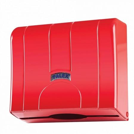 Palex Стандартный Z Диспенсер для полотенец с выдвижной бумагой Красный