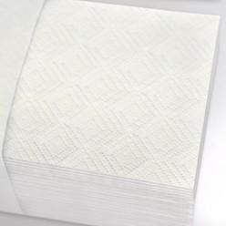 Листовые полотенца V 2 слоя (белые) отбеленная макулатура 17 гр *2
